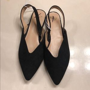 NWOT 6.5W ♥️a new day sling backs great shoes!!